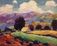 Shady Groves Fine Art Print