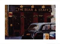 Bear Staff Fine Art Print