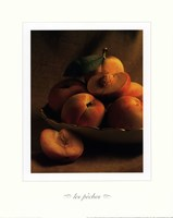 Still Life with Peaches Fine Art Print