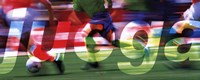Juega-Futbol (Spanish) Framed Print
