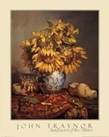 Sunflowers of the Rhine Fine Art Print