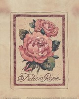 Vintage Felicia Rose Fine Art Print