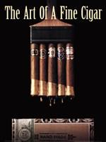 Art of a Fine Cigar Fine Art Print