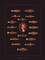 Cigar Band No27 Fine Art Print