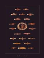 Cigar Band No34 Framed Print