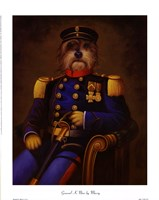 General K. Nine Framed Print