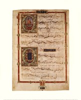 Polyphonic Hymns Magnificats (Bass) Fine Art Print