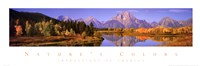 Nature's Colors - Grand Teton Range Fine Art Print
