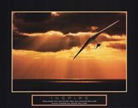 Inspire - Hang Glider Fine Art Print