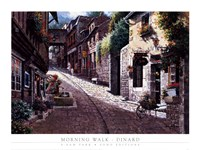 Morning Walk-Dinard Fine Art Print
