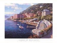 Lakes of Bellagio Fine Art Print