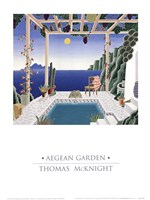 Aegean Garden Fine Art Print