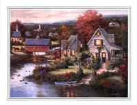 Cozy Country Night Fine Art Print
