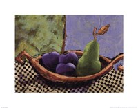 Plums and Pears II Fine Art Print