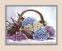 Hydrangea Arrangement Fine Art Print
