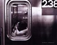 Urban Romance Framed Print