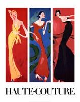 Haute-Couture IV (Three Up) Fine Art Print