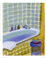 Porcelain Bath ll Framed Print