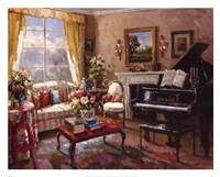 The Music Room Fine Art Print