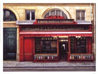 Epicerie P. Legrand Confiserie Framed Print