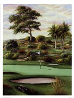 #4 Breezy Green At Emerald Dunes Fine Art Print