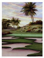#8 Bunkers At Emerald Dunes Framed Print