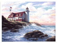 Point Betsie Light Fine Art Print