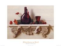 Rhythms & Red Fine Art Print