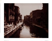 Venetian Canal Framed Print