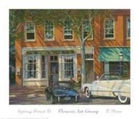 Spring Street II Fine Art Print