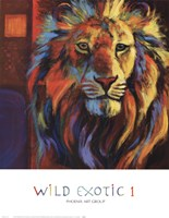 Wild Exotic 1 Framed Print