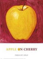 Apple on Cherry Fine Art Print