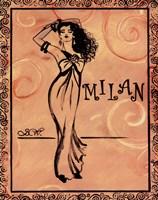 Milan Fine Art Print