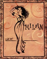 Milan Framed Print
