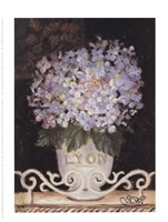 Hydrangeas Of Lyon Fine Art Print