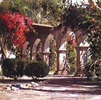 Sunlit Archway Fine Art Print