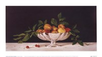 Fruit In An Oval Of Silver Fine Art Print