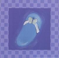 Butterfly Flip Flop Fine Art Print
