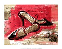 Best Black Heels Fine Art Print