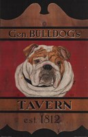 General Bulldog's Tavern Fine Art Print