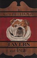 General Bulldog's Tavern Fine Art Print