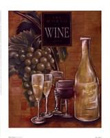 World Of Wine II Framed Print