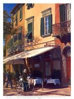 Cafe Capri II Fine Art Print