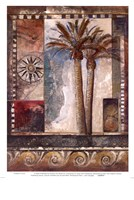 Paradisiacal Palm I Fine Art Print