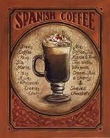 Spanish Coffee - Mini Framed Print