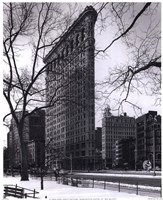 Flat Iron Building Framed Print