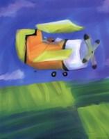 Bi Plane Fine Art Print