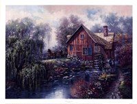 Willow Creek Mill Fine Art Print