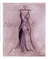 Gray Gown Fine Art Print