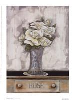Ophelia's Roses Framed Print